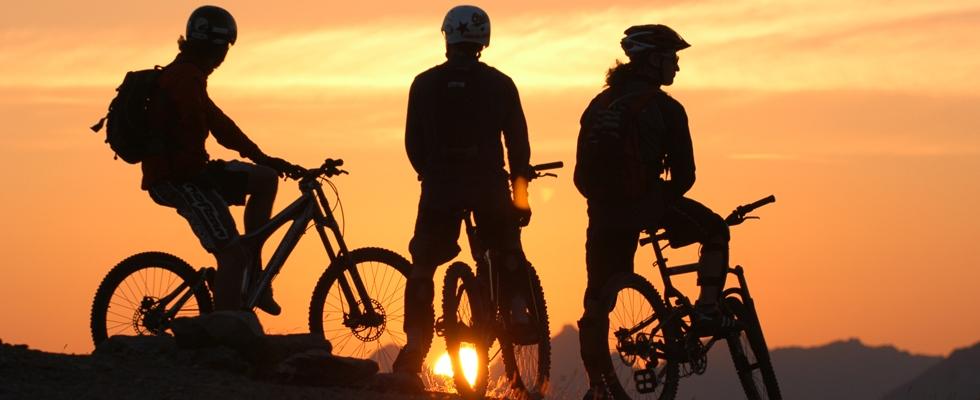 Fahrradfahrer sind herzlich Willkommen